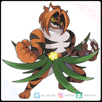 Incineroar Dusk Form