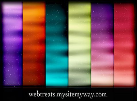 12 Space Waves Patterns by WebTreatsETC