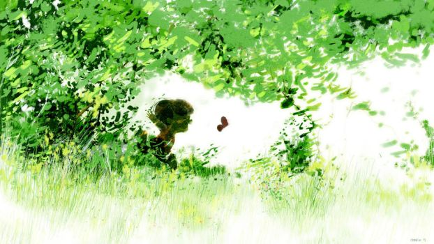 Chasing Butterflies by PascalCampion