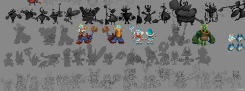 Concepts for game characters by Jonik9i