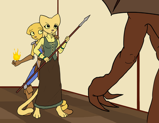 It's dangerous to go alone, take her! by KillerfishSG
