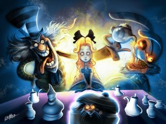 alice in the wonderland by clemper