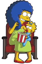 Marge In The Theatre by LeeRoberts