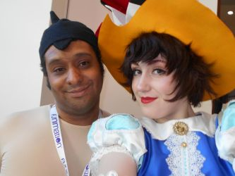 Astro Boy and Sapphire AB 2018 by Dragonrider1227