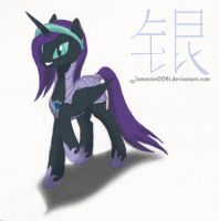 Nyx - Knight of Equestria by Silverthe-Dragon