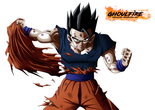 Gohan Definitivo Render by GhoulFire