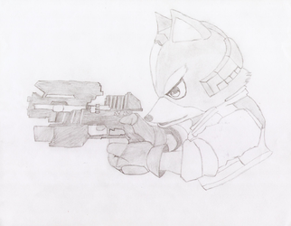 Fox McCloud by Tail800
