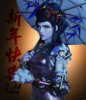 Widowmaker - Black Lily by hicky22