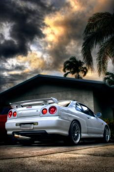 Skyline in the driveway by mgc81