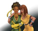 Danielle Cage and Lucy Rand by ashetana