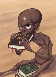 Do not give me a holy book give me a holy sandwich by QuilesART