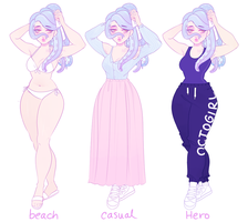 Minami alt outfits by PetitePasserine
