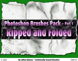 Ripped and Foleded Brushes by YesOwl
