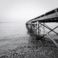 the black and white sea no.3 by herbstkind
