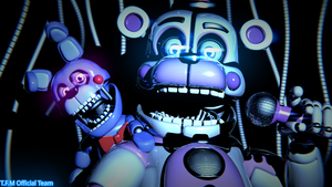 Funtime Freddy Poster - [FNaF SL Pack] by ChuizaProductions