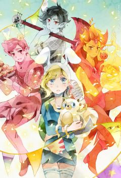 .Adventure time with Fionna and princes. by Hetiru