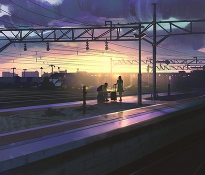 Going home by snatti89