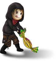 Chibi Thief by Adela555