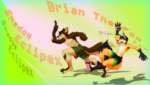 Commission Brian The Fox by JLindseyB