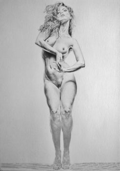 A classic artistic nude by stevie-wydder