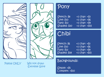 Commission sheet by OMGProductions