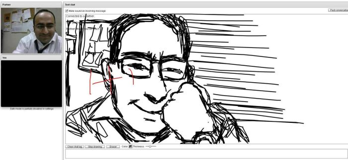 chatroulette drawing 4 by FireWaterHFX