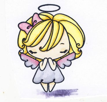 Copic Angel by A-Fire-Within