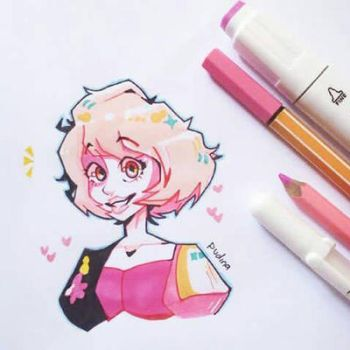 Pink Diamond  by Pudina9