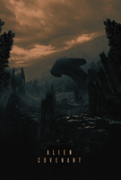 Alien Covenant Cinematic Poster by MessyPandas