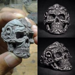 Deadleaf Skull Ring exposure by fourspeedindonesia