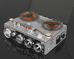Nagra III tape recorder by unigami