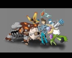 Dack's Second Pokemon Team