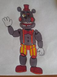 Freddit DrawForMe #1 Lefty the Clown by yoshipower879
