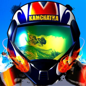 Sochi 2014 sticker. Kamchatka (snowmobile) by 4MaTC
