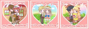Happy Valentine Day cards Atelier Version~ by Risocaa