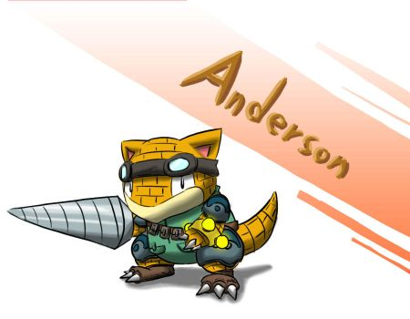 Anderson the name by ham77770011