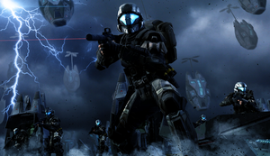 ODST Drop by LordHayabusa357