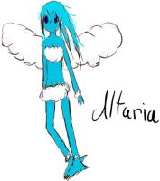 Human Altaria by Turtle-Rainbow