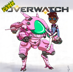 Camp Overwatch: Nerris by DragonWorlock