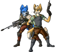 So This is Starfox. by CoyoteEsquire