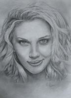 Scarlett Johansson - Portrait by CurlyWurly808