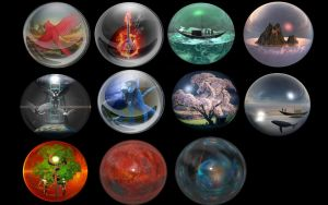Various Orbs psd by manoluv