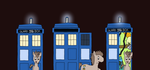 The Pony Doctor's TARDIS - Exterior by MarkKB