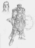 Cleric Sketch by DKuang