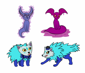 More ElzjevR Fakemon by xSweetSlayerx