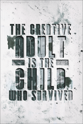 Typography - Creative Adult. by byEhra