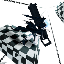 Black Rock Shooter by wudup