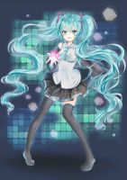 :Miku: by Sternenmelodie