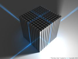 The Blue Cube by TiMoLiNiO