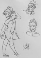 lavender pearl pencil doodles by faerie-daze